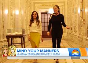 The Today Show Etiquette Series with Myka Meier