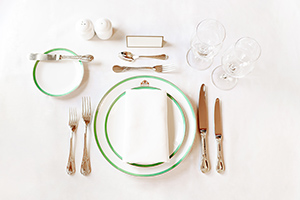 Formal Place Setting Image