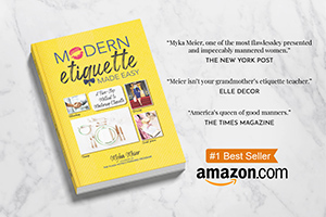 Modern Etiquette Made Easy Book Promotion
